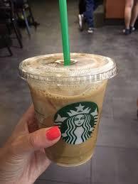 Starbucks Tall Iced Coffee Vanilla Cream