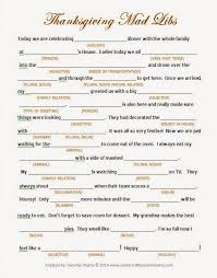 Halloween Mad Libs Esl by Clever Crafty Cookin U0027 Mama Thanksgiving Day Mad Libs Free