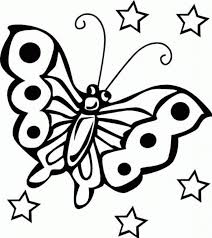 Download Coloring Pages Kid Free Printable Butterfly For Kids Online