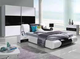 komplett schlafzimmer kansas hochglanz schwarz weiss
