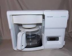 Black Decker SPACEMAKER Under Cabinet White 12 Cup Coffee Maker ODC325