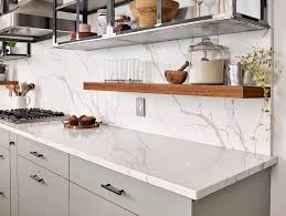 Kitchen Countertops And Backsplash Pictures Quartz Backsplash Pros And Cons Kitchen Infinity