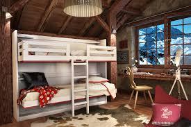 lits superposés montagne 2 couchages 80 cm montagne magasin