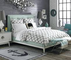 Grey Hardwood Floors Bedroom With Dark Wood