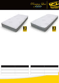 Catalog Browse | Alliance Truck Parts | Mattresses
