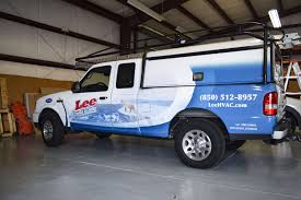Lee HVAC Truck Wrap By Pensacola Sign In Pensacola, Florida. On ...