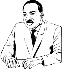 Martin Luther King Coloring Page Picture