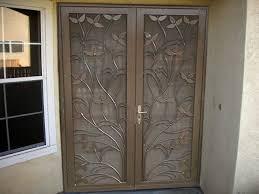 Home Steel Shield Security Doors More Intended For Double Door