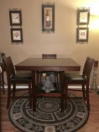 Beautiful Dining Table W 4 Chairs It Is Sturdy And Very Clean For