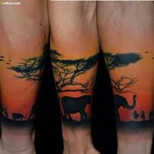 Here You Will Get Some Real Looking African Animals Tattoos For Everyone