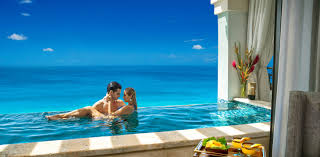 100 Resorts With Infinity Pools Sandals Luxury Suite Collection