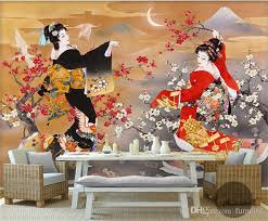 Japanese Design Photo Wallpaper Wall Mural 3d Rolls Shop Restaurant Decorative Papel Papier Peint Wide Net