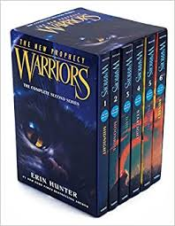 Warriors The New Prophecy Box Set Volumes 1 To 6 Complete Second Series Erin Hunter 9780062367150 Amazon Books