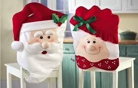 New Arrival Santa Christmas Chair Cover X Mas Mr And Mrs Sofa Gift Cheap Linen Rentals Wingback From Fuzhengkun
