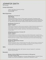Receptionist Resume Objective Examples Fresh Example For