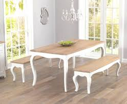 dining room tables with benches dining table with bench and 4