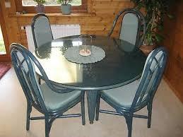 esszimmer runder tisch mit 4 stühlen eur 135 00 picclick de