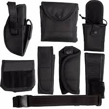 officer security guard law enforcement equipment duty belt rig