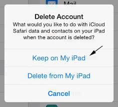 Change or Delete iCloud Account without Data Loss