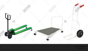 Hand Truck, Dolly Vector & Photo (Free Trial) | Bigstock