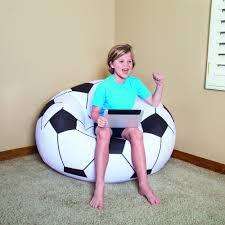 75010 Bestway 1.14mx1.12mx66cm Beanless Soccer Ball Chair 45
