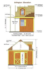 12x16 Wood Storage Shed Plans by Arlington Wood Storage Shed Measurements This Is The One I Want