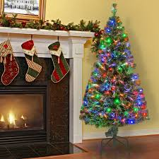 Fiber Optic Christmas Trees The Range by The Holiday Aisle 5 U0027 Green Pine Artificial Christmas Tree With 150