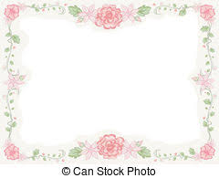 Shabby Chic Floral Frame