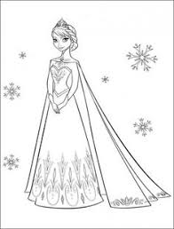 Free Disney Frozen Printable Coloring Pages Page 3