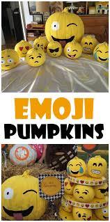 Ninja Turtle Pumpkin Designs by Clever No Carve Painted Pumpkin Ideas For Kids Emoji Holidays