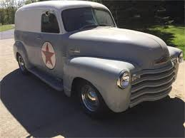 1953 Chevrolet Panel Truck For Sale | ClassicCars.com | CC-1124017 10 Vintage Pickups Under 12000 The Drive 1953 Chevygmc Pickup Truck Brothers Classic Parts Ford Fr100 Panel Cammer Side Angle 1920x1440 Wallpaper Chevrolet For Sale Classiccarscom Cc1055873 Rare Custom Built 1950 Double Cab Youtube Chevy 1949 1951 1952 49 50 51 52 Panal Van Rat 1954 Hot Rod Network 4719551 Suburban Bolton S10 Frame Swap