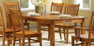 solid wood dining room table and chairs oak 8 furniture ebay 6