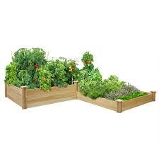 greenes fence company3 tier 4 x 12 cedar raised garden kit