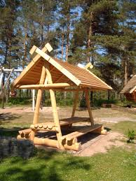workhome idea log picnic table plans