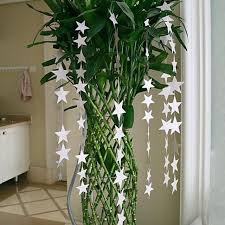 New Lovely Blink Small Stars Hanging Decor Birthday Party Wall Hang Paper Star Garlands Home Room