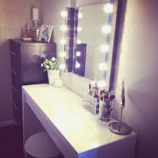 mirror luxury and vanity mirror with light bulbs