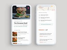 100 Food Truck App Profile Screen Of By Baz Deas Dribbble Dribbble