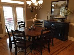 logan circle round dining table havertys