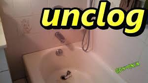 bathtub clogged plunger wont work and sink toilet tub lawratchet com