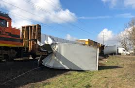 100 Simi Truck Driver Cited After Train Hits Semi Truck In Eugene