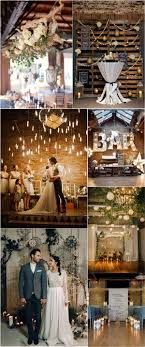 Rustic Country Indoor Industrial Wedding Ideas A Target