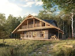 100 House In Forest In Forest 3D Model