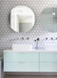 Grey Tiles White Grout by 39 Stylish Hexagon Tiles Ideas For Bathrooms Digsdigs