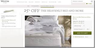 westin heavenly bed 25 off march sale