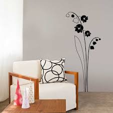 stickers muraux pour chambre sticker mural muguet motif adulte pour décorer chambre adulte
