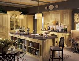 Wonderful French Kitchen Design Styles As Modern With The Placement Of A Nice