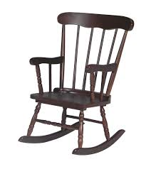 John Thomas Furniture Home Accents Child's Boston Rocker In Rich Mocha  CR15-2465
