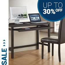 Techni Mobili Computer Desk With Side Cabinet by Techni Mobili Home And Office Furniture