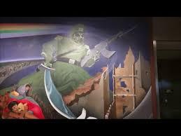 Denver International Airport Murals Horse by Denver Airport Murals Creepy Youtube