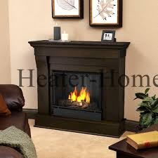 5910 Real Flame Chateau Indoor Gel Fireplace With Hand Painted Log Set